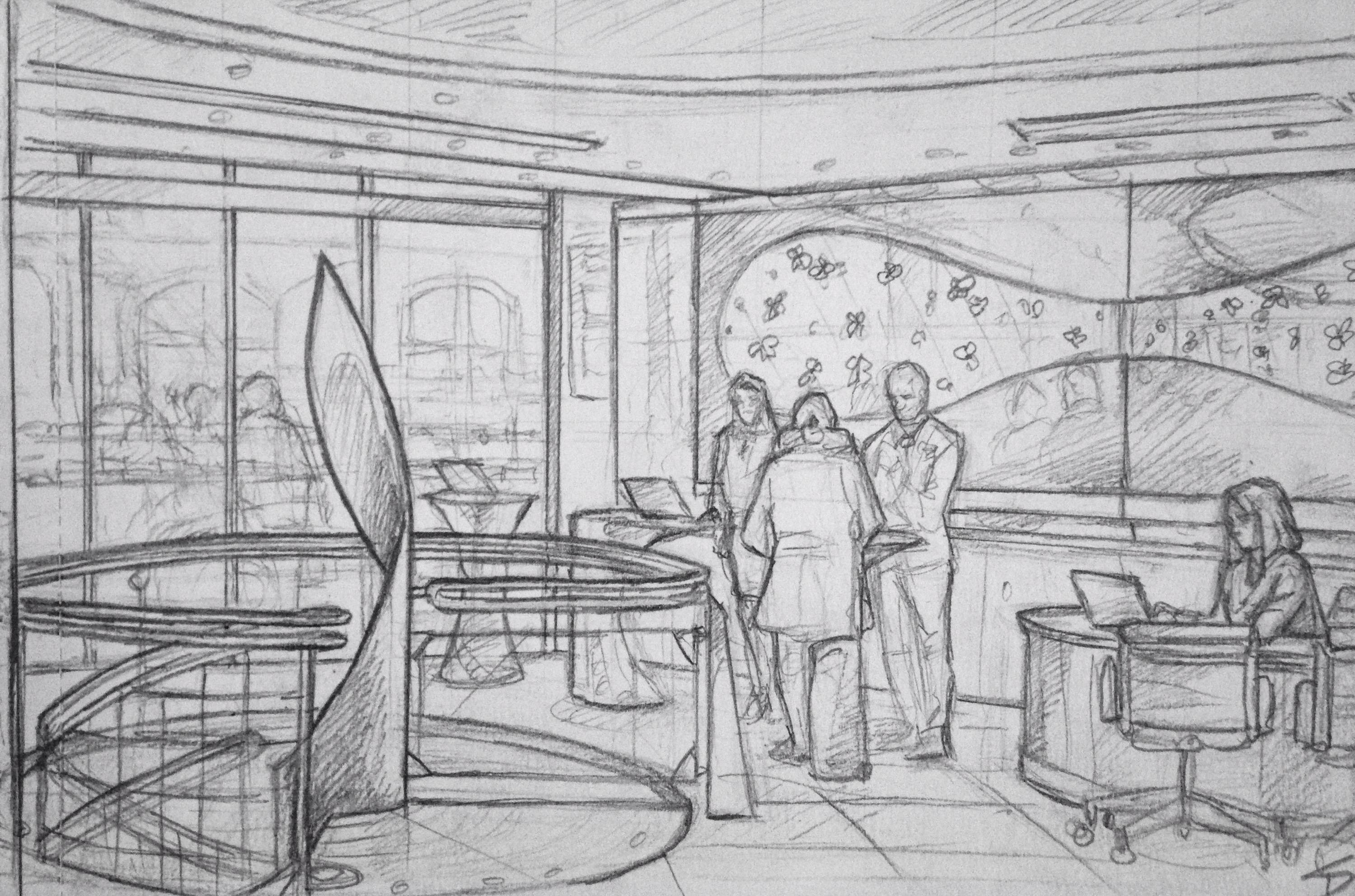 Quick sketch hotel josef prague 3 sketchbook explorer for A for art design hotel
