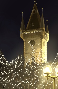 ipad Painting - 'Old town hall tower, Prague.' @davidasutton @sketchbookexplorer Facebook.com/davidanthonysutton #sketch #ipadart #prague #travelblog #travel #praguechristmasmarket