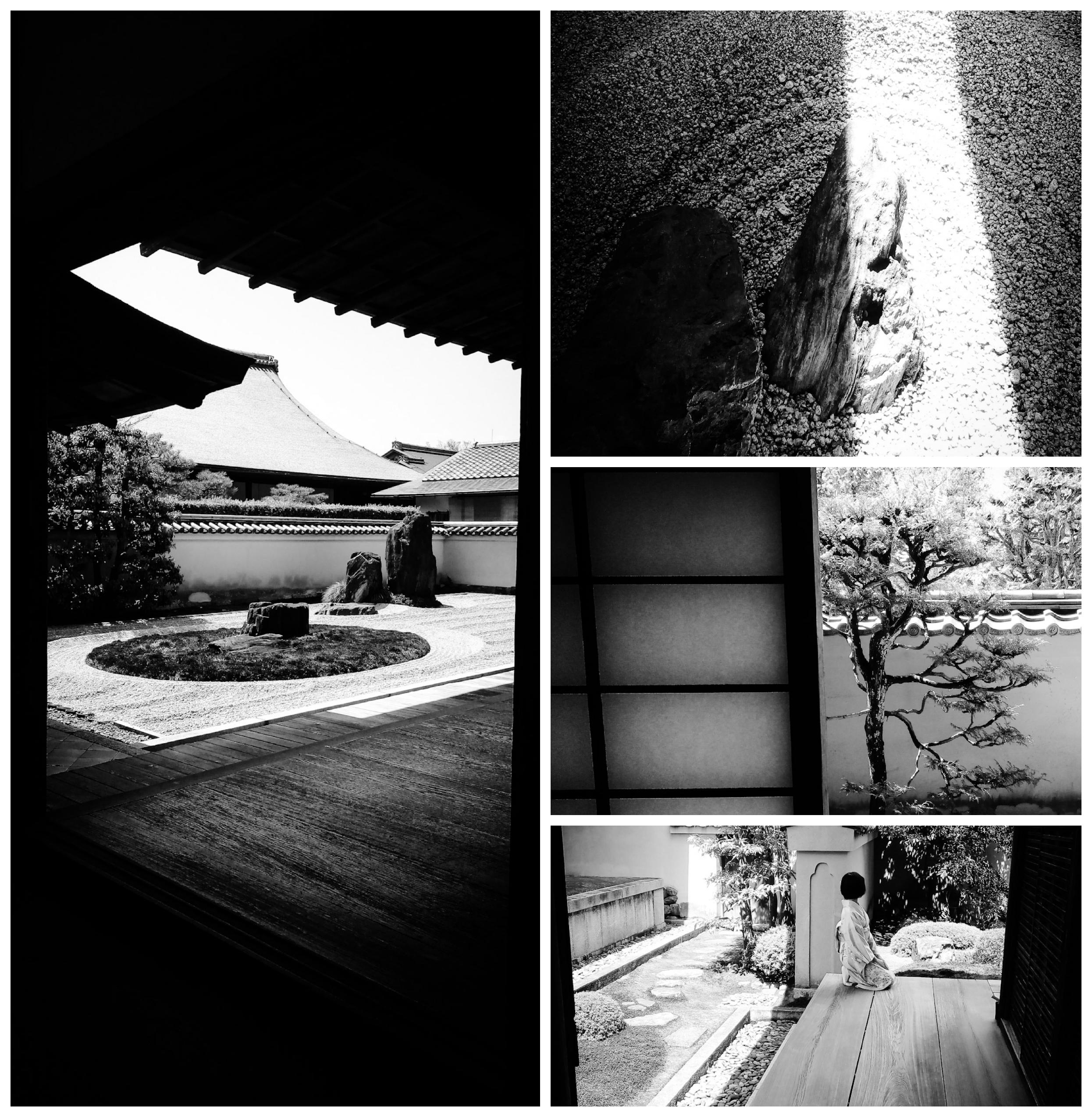 Urban photos - Murasakino, Kyoto, Japan.'Ryogen-in Temple.' Located inside the Daitokuji Temple complex, the Ryogen-in Temple dates back 1502. The temple is home to five gardens, including the Isshidan (a stunning stone garden), Ryogintei (a moss garden said to have designed by famed landscape artist Soami), and Totekiko (claims to be the smallest Kare-sansui). sketchbookexplorer.com @davidasutton @sketchbookexplorer Facebook.com/davidanthonysutton #japan #kyoto #kitaward #daitokuji #ryogenintemple #travel #travelblog #photography #cheeryblossom #cherryblossomseason