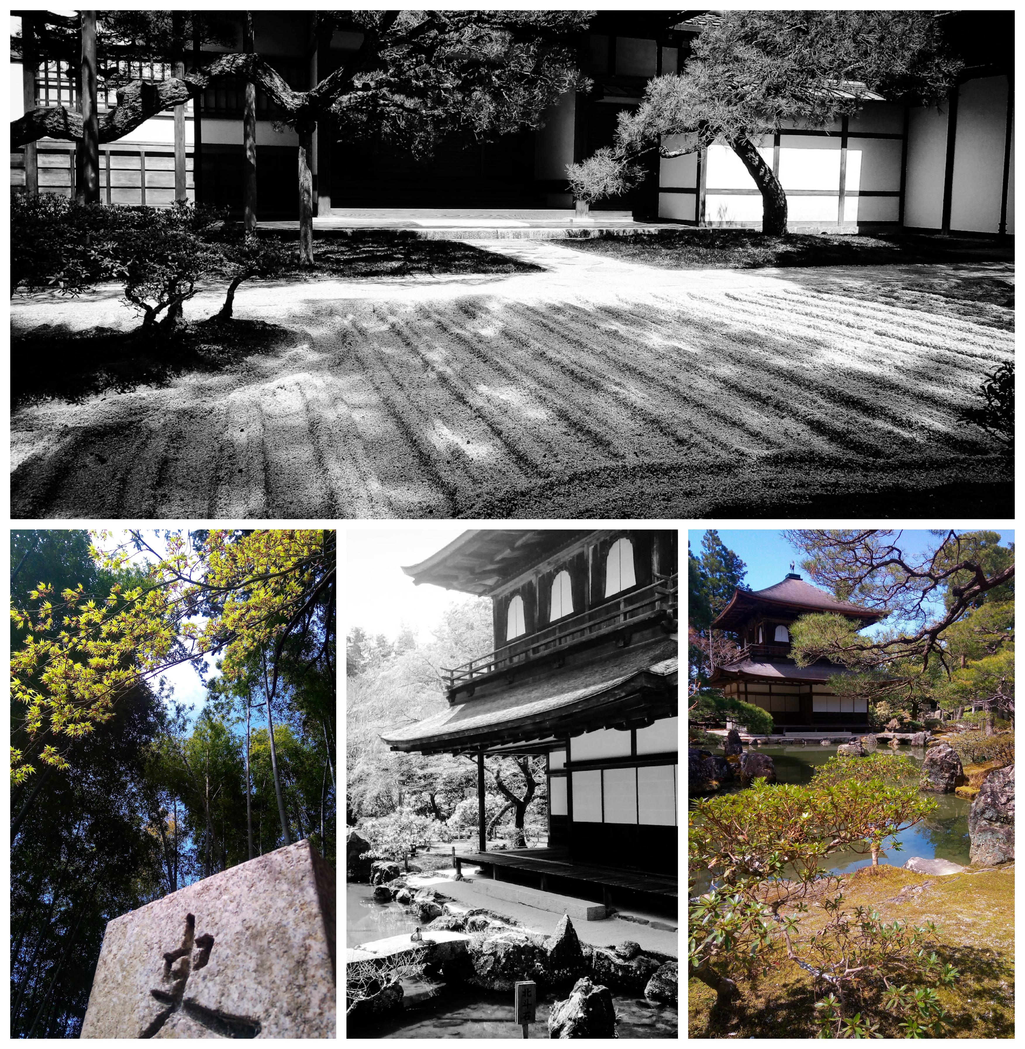 Urban Photos - Sakyo-Ku, Kyoto, Japan. 'Ginkaku-Ji Temple.' Dating back to 1482, the Rinzai Zen Buddhist temple is commonly known as the 'Silver Pavilion' (Ginkaku), due to original plans for the central pavilion to be covered in silver foil. The temple's stunning garden is thought to have been created by famed 16th century Japanese landscape artist Soami. Strangely, I noted signs at the entrance stating no sketching allowed, this wasn't the last time I would see this in Kyoto. For some unknown reason, a few of the most popular sites in Kyoto are not exactly artist friendly, but luckily, less tourist heavy shrines and temples are more accommodating to artists. sketchbookexplorer.com @davidasutton @sketchbookexplorer Facebook.com/davidanthonysutton #japan #kyoto #sakyoku #ginkakuji #travel #travelblog #photography #cheeryblossom #cherryblossomseason