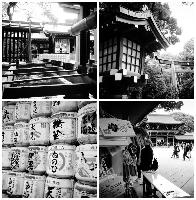 Urban Photos - Shibuya, Tokyo, Japan. 'Meiji Shrine.' Built in 1915, the shrine is dedicated to the spirit of Emperor Meiji (122nd Emperor) and Empress Shoken, who oversaw the Meiji Restoration, and the modernization of Japan, from a feudal country. It was built in a location, they often visited. sketchbookexplorer.com @davidasutton @sketchbookexplorer Facebook.com/davidanthonysutton #japan #tokyo #taito #meijishrine #travel #travelblog #photography #cheeryblossom #cherryblossomseason