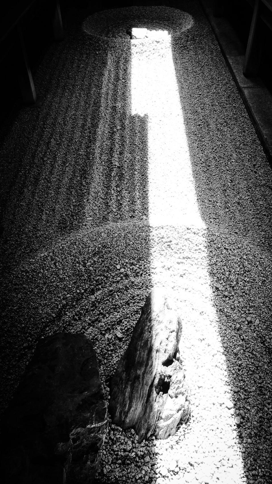 Urban photos – Murasakino, Kyoto, Japan. 'Ryogen-in Temple,1.' Image from my latest travel art blog article 'Sakura Japan.' Now online - sketchbookexplorer.com @davidasutton @sketchbookexplorer Facebook.com/davidanthonysutton #photography #japan #Kyoto #Ryogenintemple #zengarden #meditation #travel #travelblog #cherryblossom #cherryblossomseason