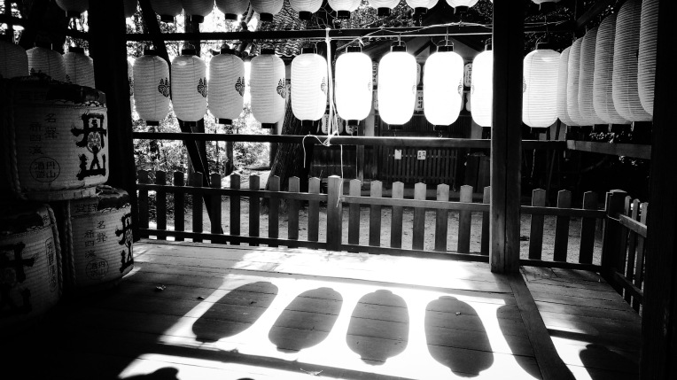 Urban Photo – Sakyo-Ku, Kyoto, Japan. 'Yagami Shrine.' Complete image from my latest travel art blog article 'Sakura Japan.' Now online - sketchbookexplorer.com @davidasutton @sketchbookexplorer Facebook.com/davidanthonysutton #photography #japan #Kyoto #yagamishrine #shinto #meditation #samurai #travel #travelblog #cherryblossom #cherryblossomseason #cherryblossomjapan