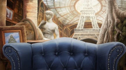 Background Matte Painting